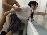 Teen Schoolgirl Harassed And Forced To Fuck By Classmate In School Toilet