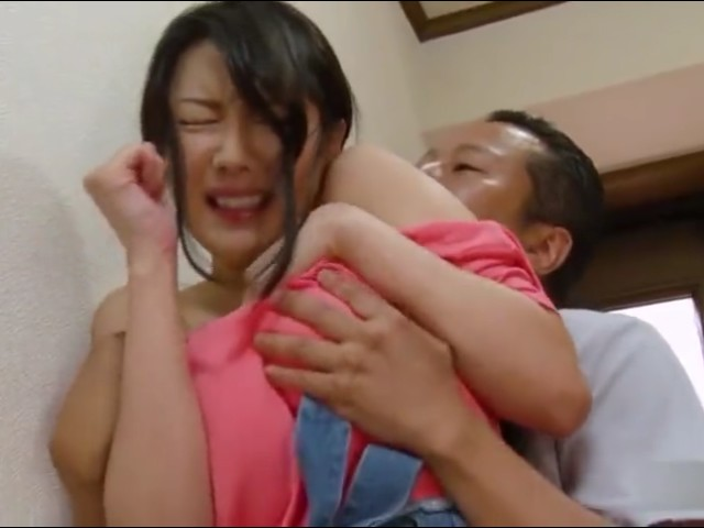Japanese MILF Gets Brutally Convinced To Have Sex With Boy
