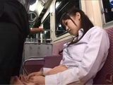Young Japanese Girl Fell Asleep In A Wrong Place