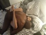 Black Guy And His Big Cock Gave To Horny Brunette An Unforgettable Sex Experience