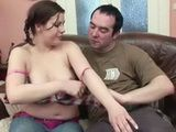 Chubby Stepdaughter Was Fucked By Her Perverted Dad