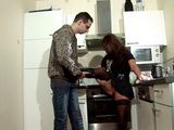 Stepmom Complaining On Her Ill Leg And Her Lovely Stepson Gives Her Kiss To Pass