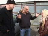 German False Cops Tricked Blonde Young Mom On The Street