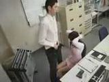 Security Cameras Recorded Poor Secretary Molested By Her Nasty Collegue