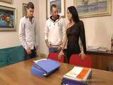 Busty French Teacher Works As A Hooker After Class