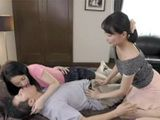 Lucky Guy Having Some Unforgettable Moments With His Girlfriend And Her Lustful Stepmom