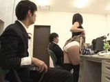 Hot And Slutty Asian Boss Makes Mouth Water To Her Poor Workers
