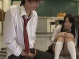 Short Time Alone In Classroom Was Enough For Horny Teens To Fuck