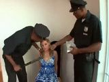 Cruel Police Officers Try To Get A Confession From Blonde For Something She Didnt Do