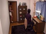 After The Dinner Japanese Girl Pays A Visit To Her Friends Husband
