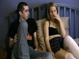 Depressed After Tough Break Up Blonde Girl Reward Step Brother For Being So Nice To Her