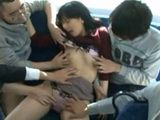 Bus Full Of Pervert Maniacs Ruin This Poor Milf Day
