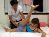 Flexible Asian Girl Get Wet Her Panties Of How She Gets Horny In Fitness Class