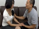 Busty Japanese Wife Gets Visited By Her Cousin Who Just Couldnt Resist Her Big Tits