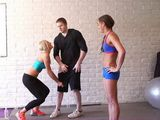 Steamy Workout In The Gym Become Threesome Hardcore Fucking