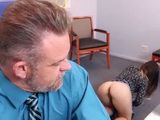 Bitchy Stepdaughter Deliberately Adjusts Her Naked Asshole In Front Of Her Daddy Just To Get Some Hard Fucking