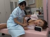 Horny Nurse Ayaka Tomoda Could Not Resist To Beautiful Sleeping Doctor Maki Houjoh