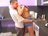 Horny Stepson Attacked And Fucked Busty Stepmom While Doing Laundry
