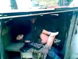Russian Schoolgirl Gets Group Fucked In a Shed On Her Way Home By Her Classmates