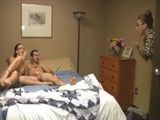 Mother Enters Her Daughters Bedroom at Worst Possible Moment  Stacie Starr and JC Simpson