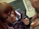 Curious Schoolgirl Get Around All Boys From Class To Study Their Cocks  Sora Shiina