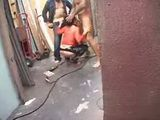 Older Slut Pleasuring Construction Workers