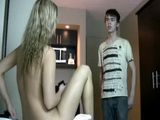 Shy Stepson Couldnt Believe His Own Eyes By Seeing Stepmother Totally Naked Infront Him