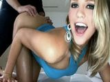 Superb Amateur Blond Babe Made Her Fucker Cum Twice