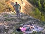 Sleeping Teen In Mountain Wilderness Gets Raped By Guy