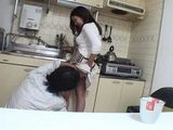 Japanese Mom Attacked And Fucked In Her Kitchen