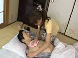 Japanese Mother Healing Sons Fever With A Pussy
