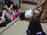 Japanese Mother And Daughter Molested And Fucked At Home