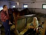 Farmer Busted Wife Cheating On Him In the Stable and Punishment For That Was Hard Dped