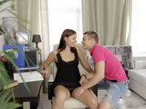 Busy Business Milf Keeps In Reserve Her Young Stud