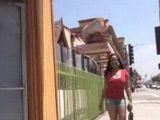 Busty American Ebony Girl In Action