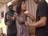 Ghetto Black Guys Fuck Japanese Housewife As Revenge To Her Husband