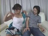 Mother Corners Daughters Teen Classmate