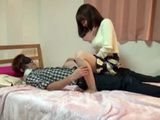 Japanese College Babe Blindfolds Her Bf Before He Fucks Her Pussy And Cum In Her Asshole