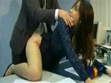Asian Secretary Fucked On A Office Desk By Her Boss