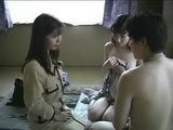 Japanese Teens Enjoying In Threesome Uncensored