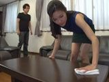 His Parents Did Not Know That Their Son Fucking Hot Asian Maid When They Are Not At Home