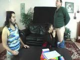 Playing Taboo Game In Threesome