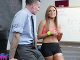 Horny Coach Convinces Sexy Soccer Player That She Doesnt Need A Boyfriend And Offers Her An Interesting Proposal