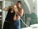 Bitching Blonde Gets Rough Anal Punishment From Pissed Off Repairman