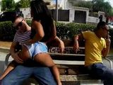Shameless Hot Latina Gets Fucked In Public In Broad Daylight