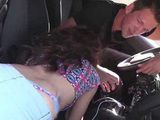 Super Hot Latina Trying To Find Her Driver Licence She Lost But She Will Find Something Else