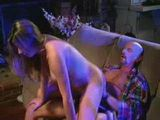 Horny Girl Trashing Sleepy Stepfather
