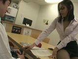 Two Horny Teachers Use Library As A Perfect Place For Having Sex