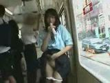 Japanese Teen Punished For Playing With Dildo In Bus