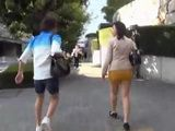 Guy Approaches To Japanese Office Lady On The Street With Indecent Proposal